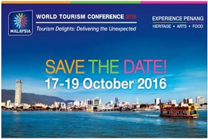 "World Tourism Conference 2016 ""Tourism Delights: Delivering the Unexpected"""